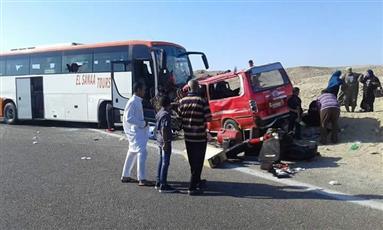 مقتل 8 مصريين وإصابة 14 في حادث تصادم بالبحر الأحمر
