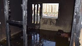 إصابة شخصين في حريق شقة بالفحيحيل