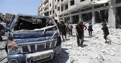 قتلى بهجوم على مقر للمعارضة في إدلب