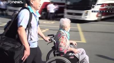 لأول مرة منذ 65 عاماً.. كوريون جنوبيون يصلون إلى كوريا الشمالية للقاء بأقاربهم