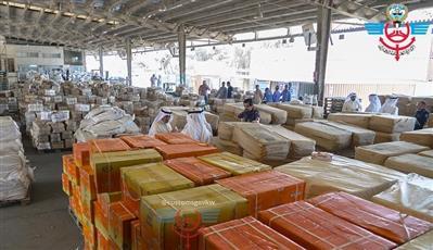 «الجمارك»: ضبط 1.25 مليون حبة تمباك.. واتلاف 7 حاويات معسل تالف