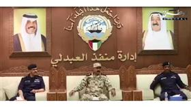 الشيخ سالم النواف الصباح  يتابع الجاهزية الأمنية على الحدود