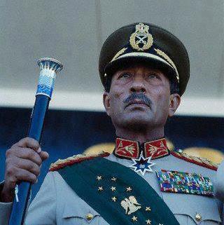 الرئيس المصري الأسبق أنور السادات