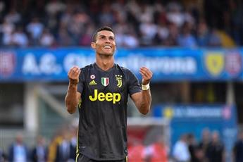 رونالدو يبحث عن هدفه الأول في الدوري الإيطالي