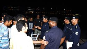 النهام يتابع جاهزية رجال الشرطة.. لحفظ الأمن
