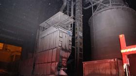 السيطرة على حريق مصنع للحديد في ميناء عبدالله الغربية