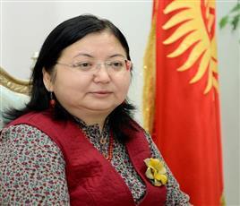 سفيرة قرغيزيا تثمن مشاركة الكويت الثقافية في بطولة الألعاب العالمية للشعوب الرحل