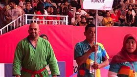 بطلنا حسين المسري يحرز «برونزية الكوراش» في «آسياد جاكرتا»