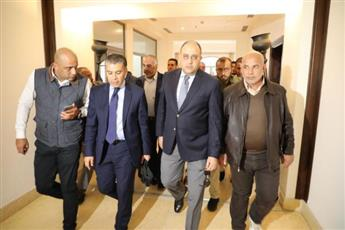 وفد مصري يبحث «المصالحة» مع الرئيس الفلسطيني في رام الله