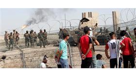 العراق: احتجاجات عند مدخل حقل نهر بن عمر النفطي في البصرة