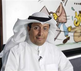 رئيس جمعية الكاريكاتير الكويتية محمد ثلاب