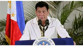 الرئيس الفلبيني رودريجو دوتيرتي