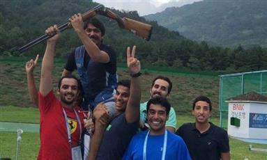 «ذهبية» للكويت في بطولة العالم للرماية