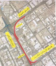 افتتاح نهائي لجزء من طريق الغزالي باتجاه مدينة الكويت