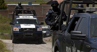 مسلحون يقتلون 4 شرطيين مكسيكيين في كمين غرب البلاد