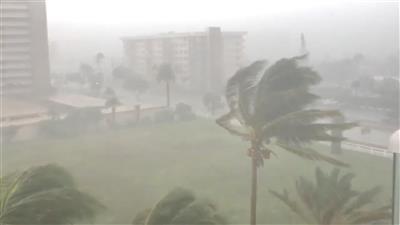 ولاية لويزيانا الأمريكية تعلن حالة الطورائ استعدادًا للعاصفة جوردون