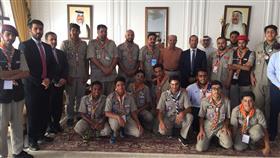 سفيرنا بالجزائر يستقبل الوفد الكشفي الكويتي المشارك في «المخيم الكشفي العربي»