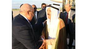 سمو أمير البلاد الشيخ صباح الأحمد الجابر الصباح عقب وصول سموه إلى واشنطن