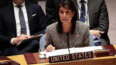 السفيرة الأمريكية بالأمم المتحدة نيكي هيلي