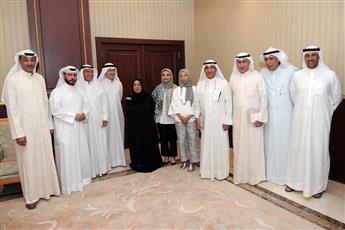 فاطمه الأمير: نحرص على تنمية مهارات الأجيال الشابة من ابناء الشهداء وأحفادهم