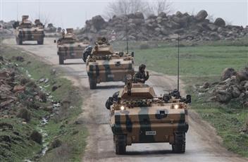 تركيا ترسل تعزيزات عسكرية إلى منطقة تل رفعت شمال حلب