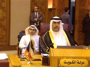 رئيس وفد الكويت وكيل وزارة المالية المساعد للشؤون الاقتصادية نبيل العبدالجليل خلال اعمال الدورة (102) للمجلس الاقتصادي والاجتماعي العربي