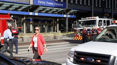 قتلى وجرحى في إطلاق نار داخل مصرف بولاية أوهايو الأمريكية
