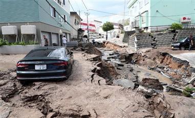 ارتفاع حصيلة ضحايا زلزال اليابان لـ 16 قتيلًا وأكثر من 300 جريح