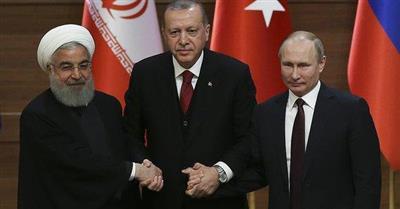 ختام القمة الثلاثية بشأن سوريا في طهران