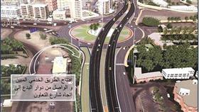 «هيئة الطرق» تفتتح طريقًا خدميًا عند دوار «البدع»