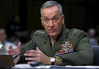 رئيس هيئة الأركان الأمريكية المشتركة الجنرال جوزيف دانفورد