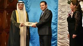 السفير المطوطح يقدم أوراق اعتماده سفيرًا فوق العادة لدى غواتيمالا