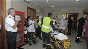 «الصحة» تنفذ إخلاء وهميا بالمستشفى الأميري