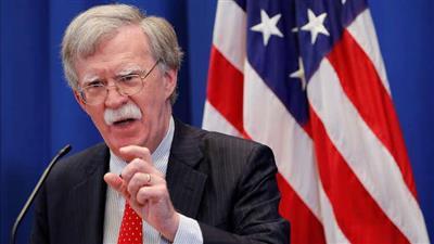 مستشار الأمن القومي للرئيس الأمريكي جون بولتون