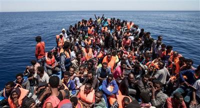 غرق أكثر من 100 مهاجر قبالة السواحل الليبية