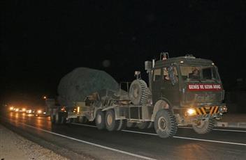 أنباء عن دخول قوات تركية للشمال السوري وتمركزها في ريف إدلب