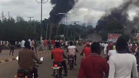 مصرع 35 شخصاً في انفجار ناقلة غاز بنيجيريا
