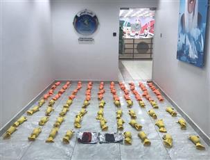 الأمن الجنائي: توقيف شخصين بحوزتهما 80 كيلو من مادة الحشيش