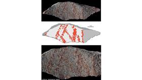العثور على أقدم رسم بشري في كهف بجنوب إفريقيا