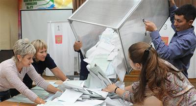 لجنة الانتخابات الروسية تلغي نتيجة التصويت في 12 مركز اقتراع