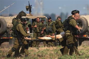 الجيش الإسرائيلي: إصابة ضابط بشظايا قنبلة أُطلقت من غزة