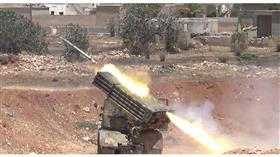 المضادات الجوية السورية تتصدى لعدوان إسرائيلي في محيط مطار دمشق