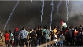 استشهاد فلسطيني متأثراً بإصابته في احتجاجات غزة