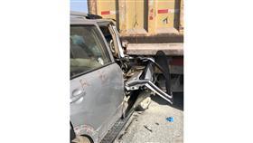 إصابتان في تصادم على طريق الملك فهد