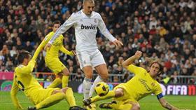 ريال مدريد يسعى لتخطي فياريال في الدوري الإسباني