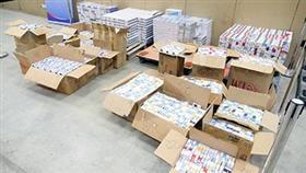 «الجمارك»: بيع 2744 كرز سجائر منوعة بـ 17800 دينار