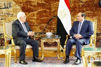 قمة مصرية فلسطينية في القاهرة