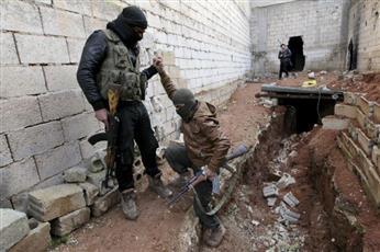 تصاعد الاشتباكات بين مسلحي المعارضة في شمال غرب سوريا