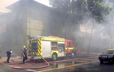 إسبانيا: مقتل ثلاثة وإصابة 15 في حريق ببرشلونة