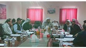 وزير الصحة يترأس اجتماعا لمتابعة آخر مستجدات العمل في مستشفى الصباح الجديد